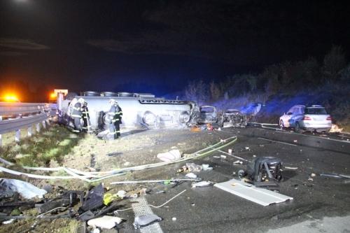 HZS Středočeského kraje - d1 highway prague brno incident 4