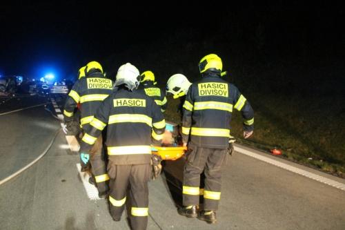 HZS Středočeského kraje - d1 highway prague brno incident 5