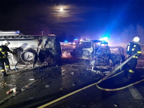 HZS Středočeského kraje - d1 highway prague brno incident 7