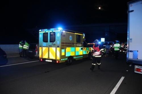 HZS Středočeského kraje - d1 highway prague brno incident 8
