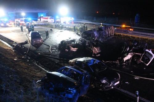 HZS Středočeského kraje - d1 highway prague brno incident 9